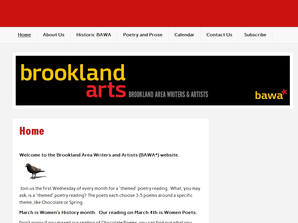 Brookland Arts Website
