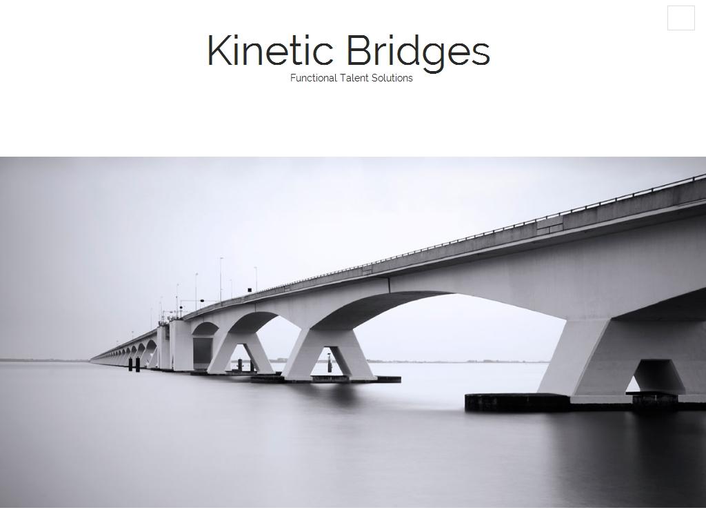 Kinetic Bridges Website