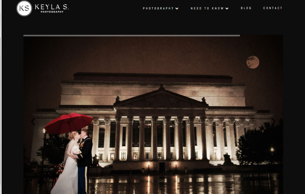 Keyla S Photography Website